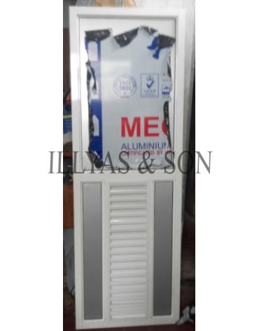 Aluminium Door - Full Cover | M M Illyas & Son (PVT) Ltd